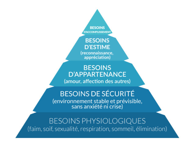 Survivalisme et pyramide de maslow