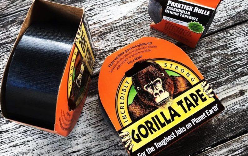 Gorilla Tape le top du tape ?