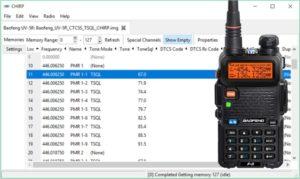 BaoFeng UV-5R – Usages avancés – Codage CTCSS