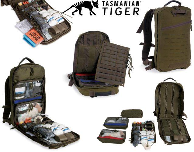Sac de secours tactique Tasmanian Tiger MEDIC ASSAULT PACK S MKII