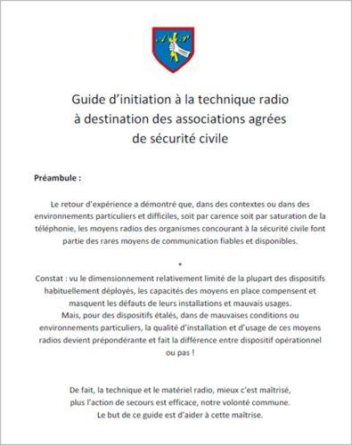 Guide d'initiation à la technique radio