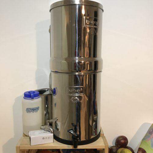 Filtre Royal Berkey - L'eau et l'autonomie hydrique