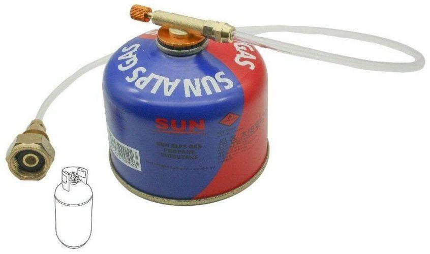 Lyre de rechargement gaz