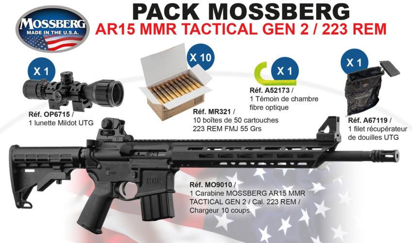 Pack Mossberg MMR calibre .223R