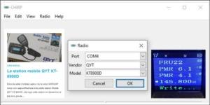 Read more about the article Configuration USB du QYT KT8900D