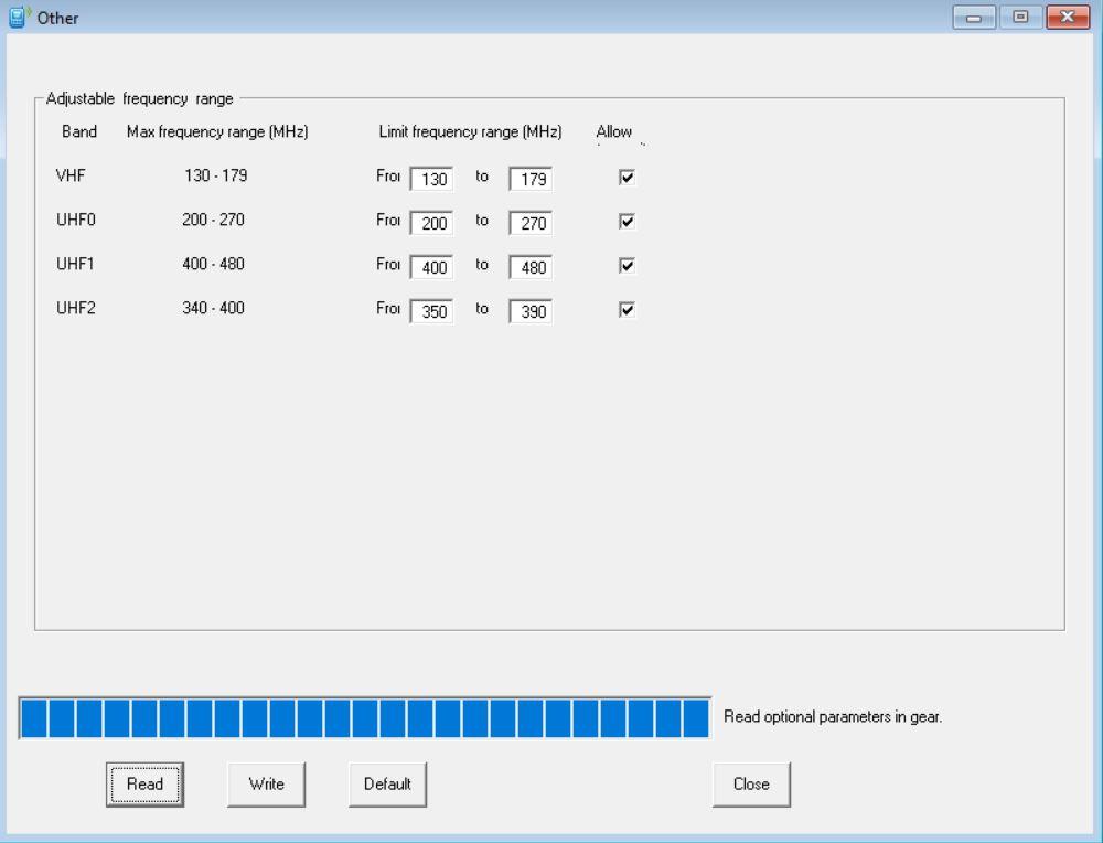 Libération de fréquences QYT KT8900D
