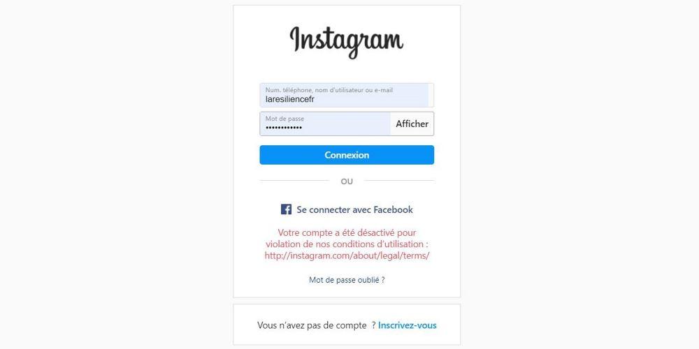 Read more about the article Mon Instagram a été bloqué