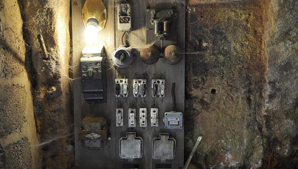 Installation électrique ancienne