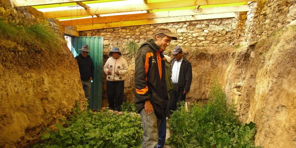Read more about the article Walipini : La serre enterrée